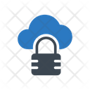 Lock Private Cloud Icon