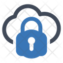 Cloud Lock Security Icon