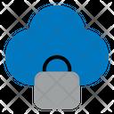 Padlock On Cloud Icon