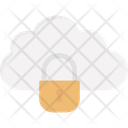 Cloud Computing Cloud Safety Cloud Security Icon