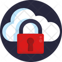 Cloud Lock Cloud Protection Private Cloud Icon