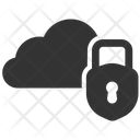 Breach Cloud Data Icon