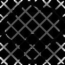 Internet Cloud Lock Icon