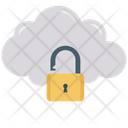 Cloud Lock Cloud Security Cloud Protection Icon
