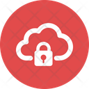 Cloud Lock Clouded Icon