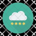 Cloud Login Password Secure Icon