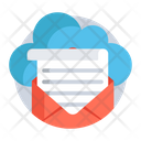Cloud Mail Cloud Message Correspondence Icon