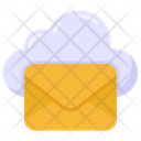 Cloud Message Cloud Mail Cloud Email Icon
