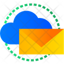 Cloud Mail Cloud Message Cloud Email Icon