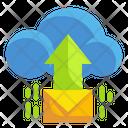 Cloud Mail Upload Cloud Mail Cloud Icon