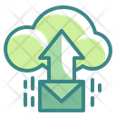 Cloud Mail Upload Icon