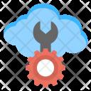 Cloud Repairing Management Icon