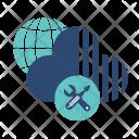 Cloud Maintenance Internet Icon