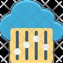 Cloud Maintenance Cloud Repair Service Cloud Setting Icon