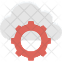 Cloud Maintenance Cloud Repair Service Cloud Settings Icon
