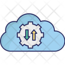 Cloud Maintenance Cloud Setting Cog Icon
