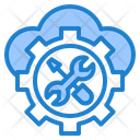 Cloud Maintenance Icon