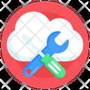 Cloud Tools Cloud Maintenance Cloud Settings Icon
