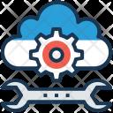 Cloud maintenance Icon