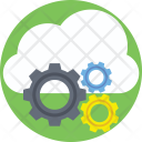Cloud Management Technology Icon
