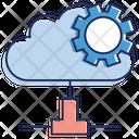 Cloud Computing Cloud Management Cloud Technology Icon