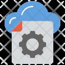 Cloud File Creative Icon