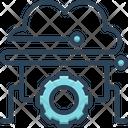 Cloud Management Access Connection Icon