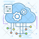 Cloud Data Cloud Hosting Cloud Storage Icon