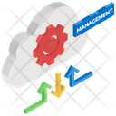 Cloud Management Cloud Configuration Cloud Options Icon
