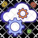 Cloud Management Cloud Configuration Cloud Options Icon