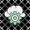 Cloud Setting Configure Icon