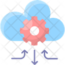 Cloud Management Gear Settings Icon