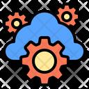 Cloud Digital Learning Icon