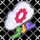 Cloud Setting Cloud Configuration Cloud Management Icon