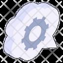 Cloud Maintenance Cloud Configurations Cloud Settings Icon
