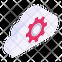 Cloud Management Cloud Setting Cloud Configuration Icon