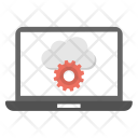 Cloud System Optimization Icon