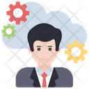 Cloud Manager Cloud Director Cloud Management Icon