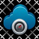 Cloud Measured Service Icon