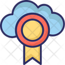 Cloud Medal Cloud Prize Medal Icon