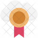Cloud Prize Medal Position Medal Icon
