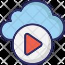 Cloud Media Media Storage Cloud Multimedia Icon