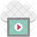 Cloud Media Icon