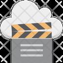 Clapper Multimedia Cloud Online Multimedia Icon