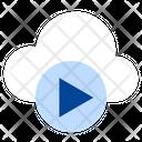 Cloud Media Online Media Online Multimedia Icon