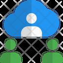 Cloud Meeting Icon