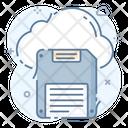Cloud Memory Memory Chip Memory Card Icon