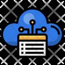 Cloud Menu Menu Ui Icon