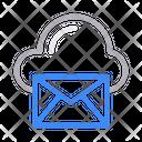 Message Cloud Inbox Icon