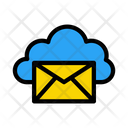 Message Cloud Database Icon